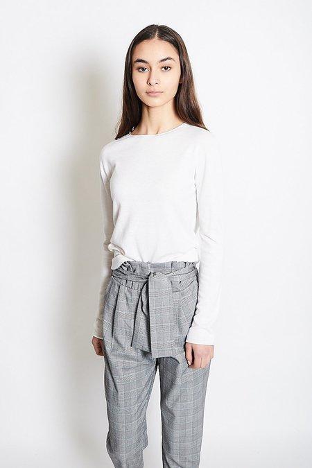 Mijeong Park Whole Garment Crew Neck Top