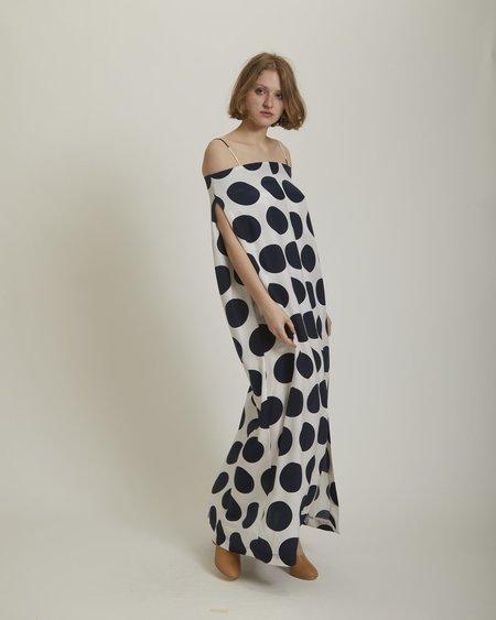 Gary Bigeni Zuzu Silk Maxi Dress