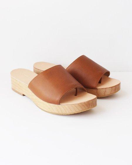 The Palatines Emano Flatform Sandal - Henna