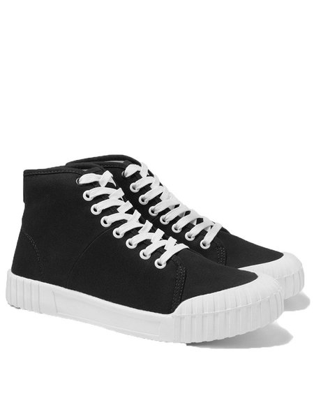 Good News Bagger High Top Trainer in Black