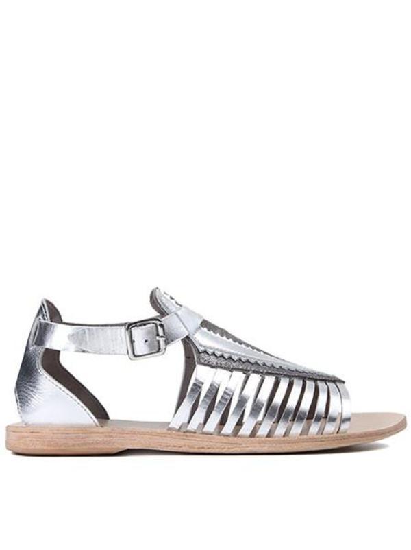 Hudson Pansy Gladiator Sandal - Silver