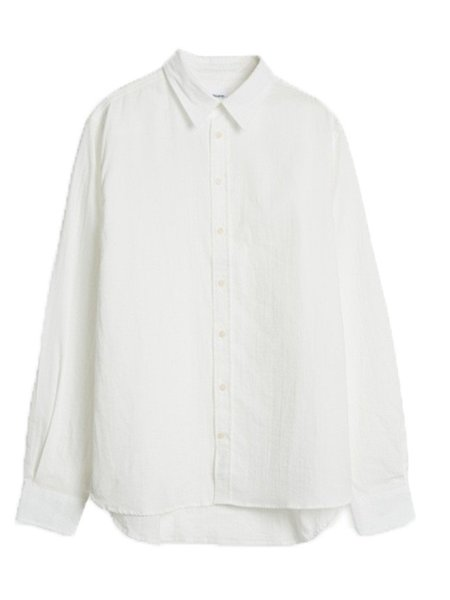 Norse Projects Hans Double Cotton Shirt in White