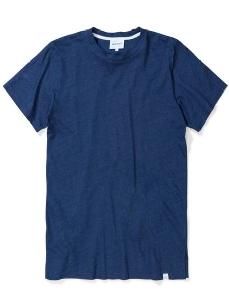 Norse Projects Niels Indigo T-Shirt in Indigo