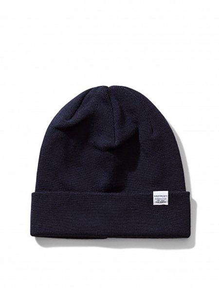 Norse Projects Top Beanie in Navy