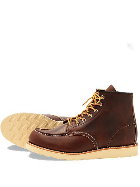 Red Wing 8138 Moc Toe Boot in Brown