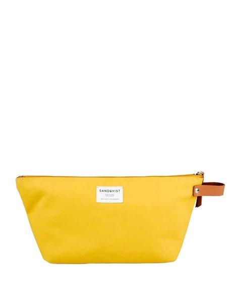 Sandqvist Cleo Wash Bag in Yellow
