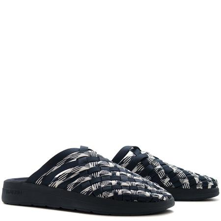 Malibu x Missoni Colony Nylon Sandal - Space Dye Navy/White