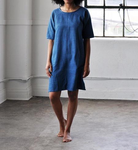 PO-EM Indigo Day Dress