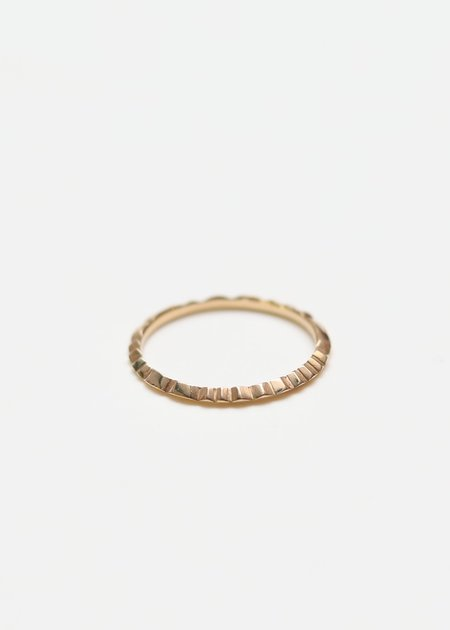 Ursa Major File Ring - 14Karat Yellow Gold
