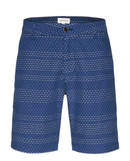Armedangels Jimmy Stitches shorts - Indigo