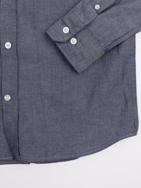Norse Projects Anton Chambray in Light Indigo