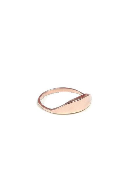 Erin Considine Dune Ring - Rose Gold