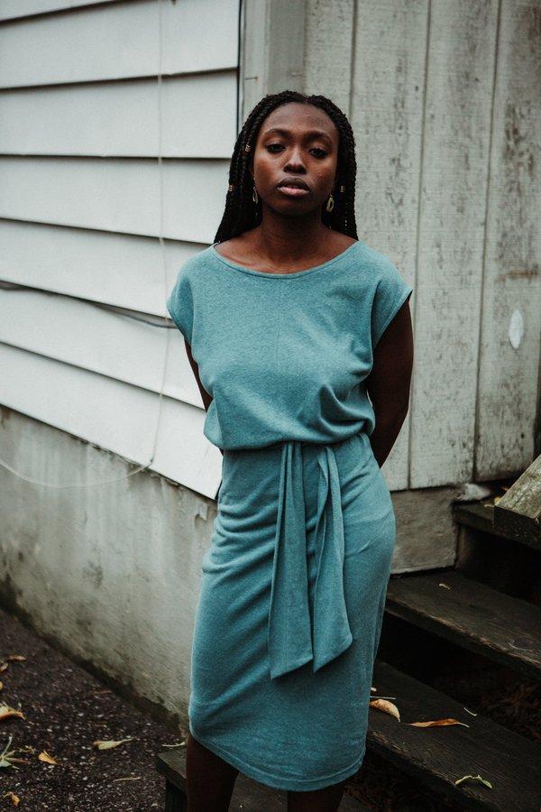 Eve Gravel Toi et Moi Dress - Turquoise