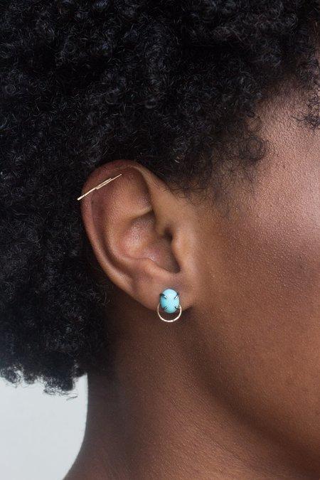 Smoke & Daggers Blue Shift Post Earrings