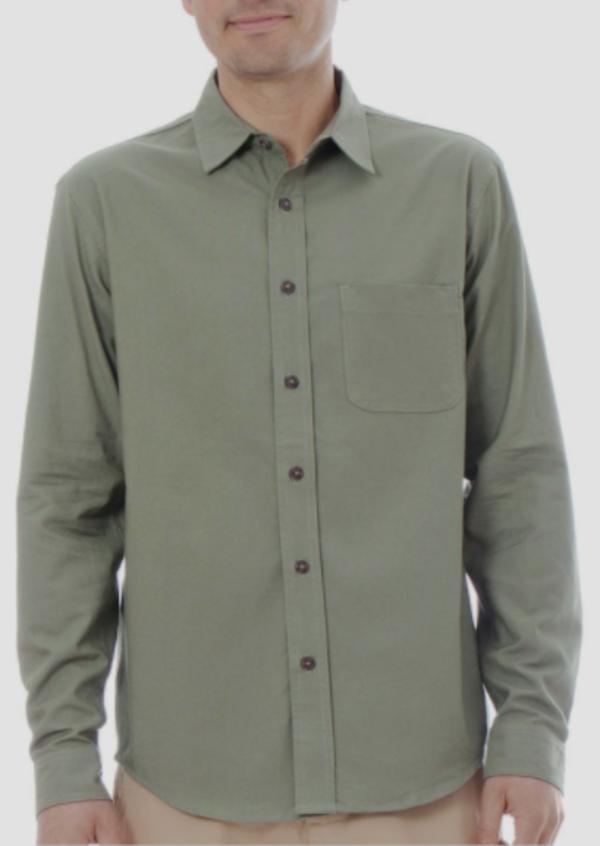 Mollusk One Pocket Shirt - Green