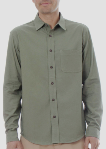 Mollusk One Pocket Shirt - Green