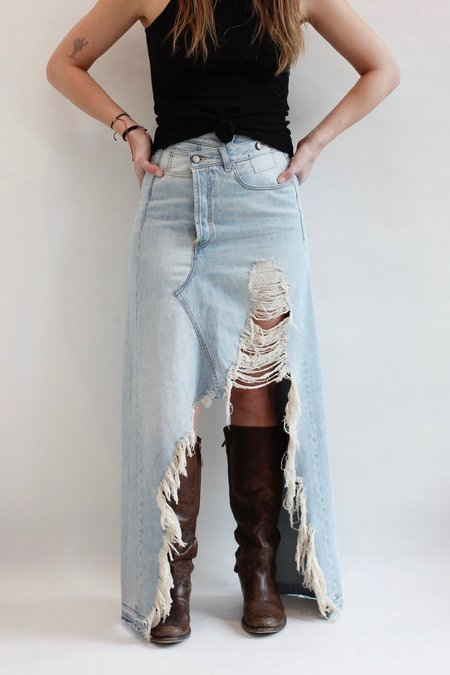 R13 Harrow Denim Skirt