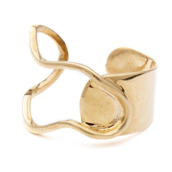 Odette New York Miro Ring - Brass