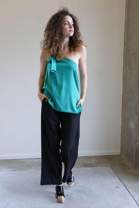 Heidi Merrick Leo Trouser - Black
