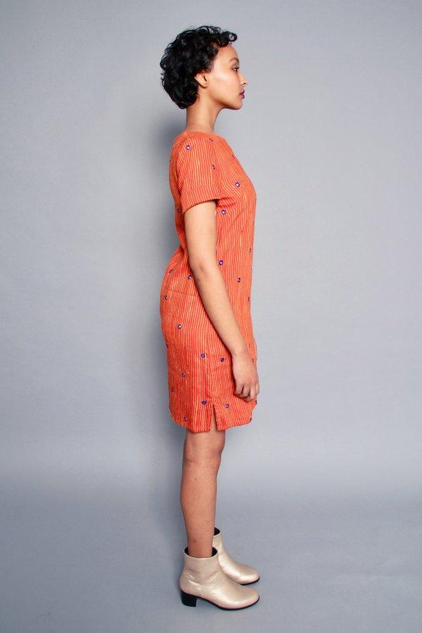 Bhoomki Tikli Shift Dress - Sunset & Mirrors