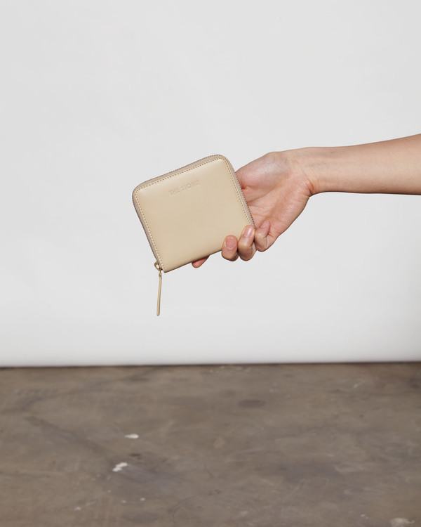 The Stowe Square Wallet - Sand
