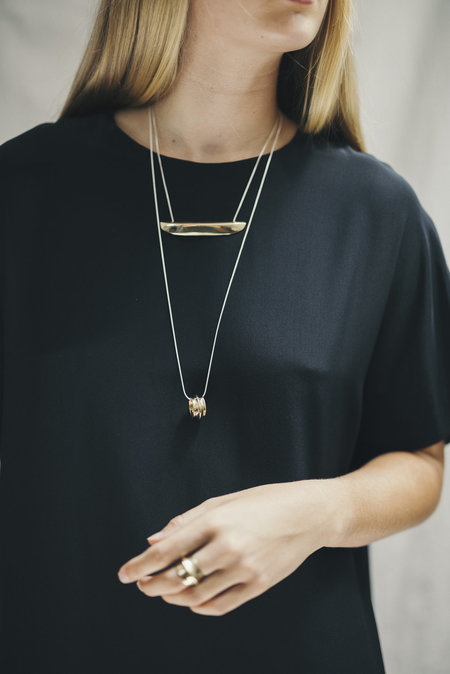 Uni Jewelry Anaya necklace - brass