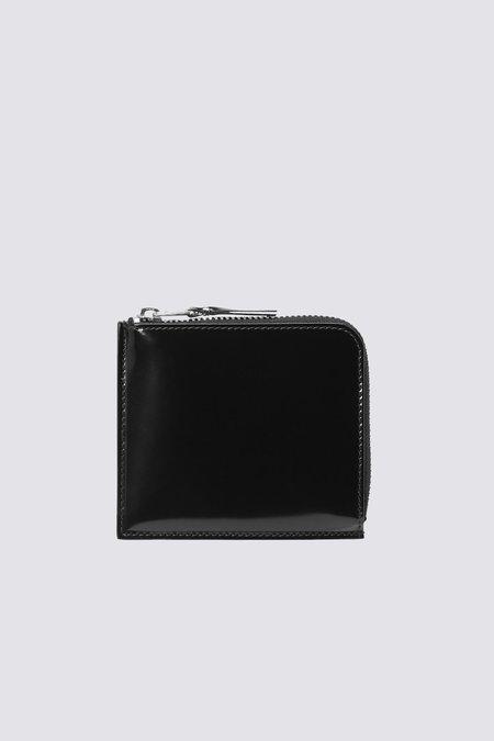 Comme des Garçons Leather SA3100MI Half Zip Wallet - Mirror Inside