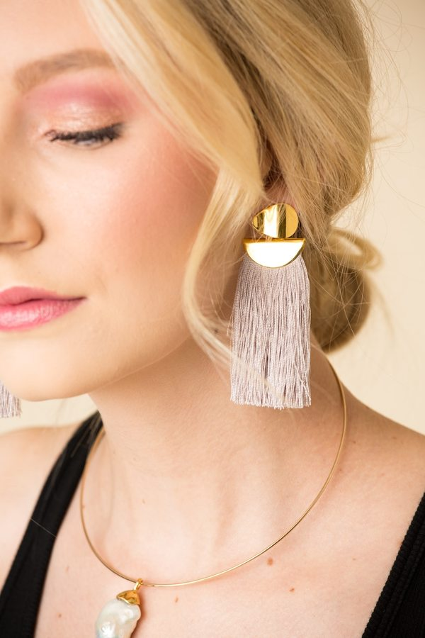 Lizzie Fortunato Crater Earring
