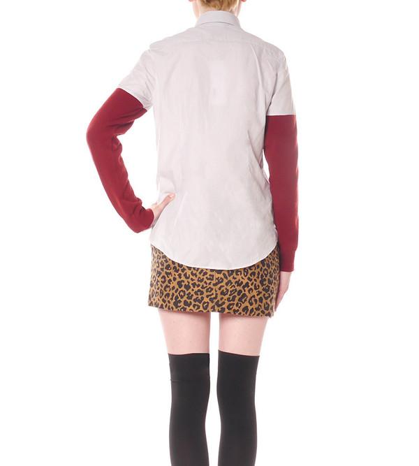 Each X Other Contrast Sleeve Shirt