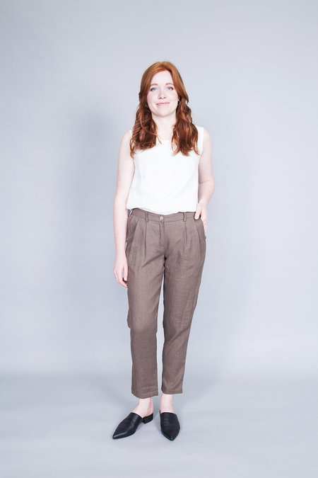 Ode to Sunday Hanna Pants - Brown