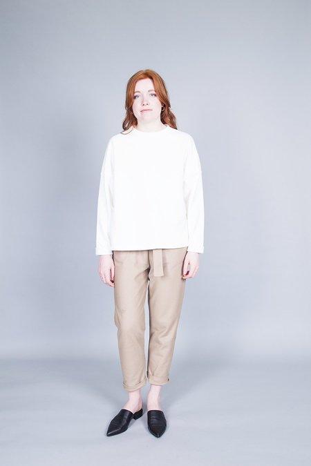 Odeyalo Manitoba Sweatshirt - Cream Hemp
