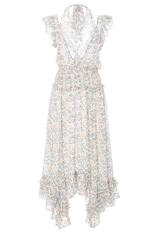 Ulla Johnson Aviva Floral Shibori Dress