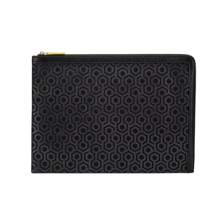 Mischa Designs A4 Folio Clutch - Black