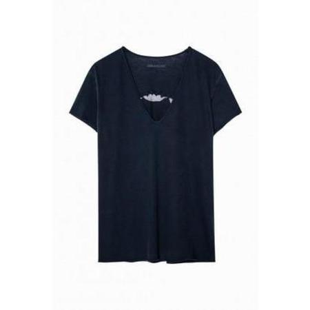 Zadig & Voltaire Story Fishnet Tee Shirt