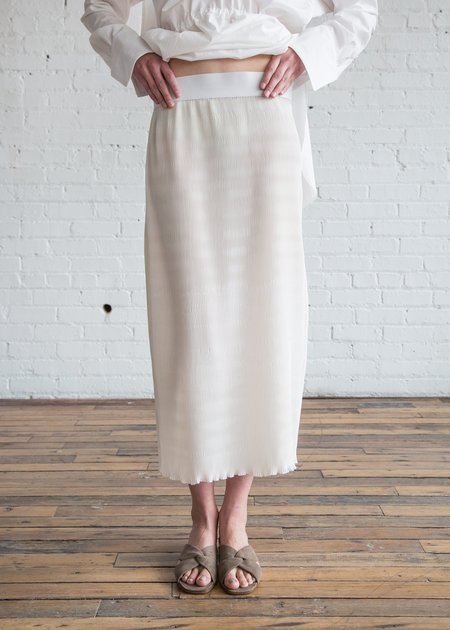 Nomia Pleated Skirt - Ivory