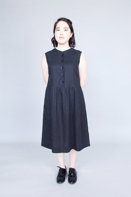 Ode to Sunday Helena Dress Black