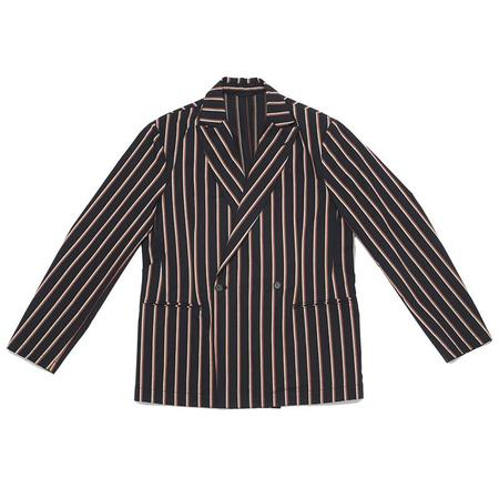 S.K. Manor Hill Darwin Blazer - Navy/Orange Stripe