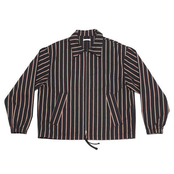 S.K. Manor Hill Hackney Jacket - Navy/Orange Stripe