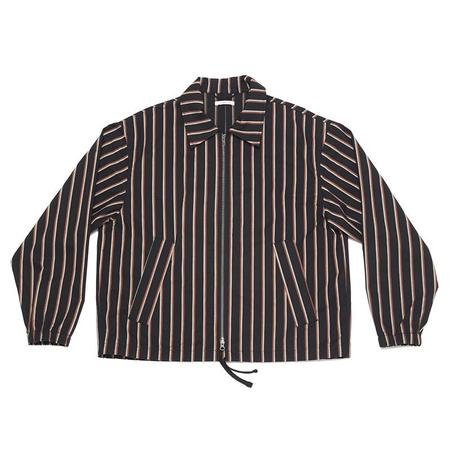 S.K. Manor Hill Hackney Jacket - Navy/Orange Stripe