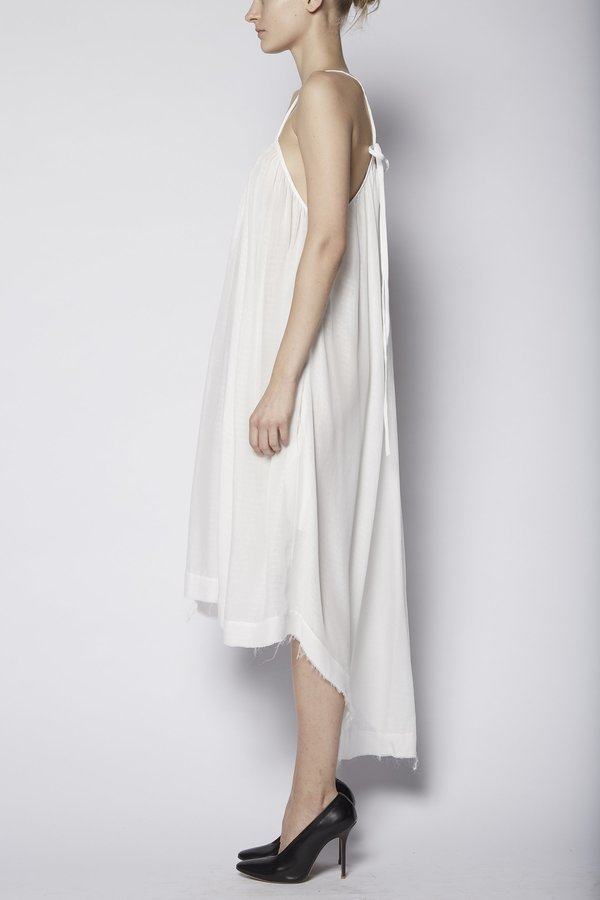 KES High-Low Halter Dress Crinkled