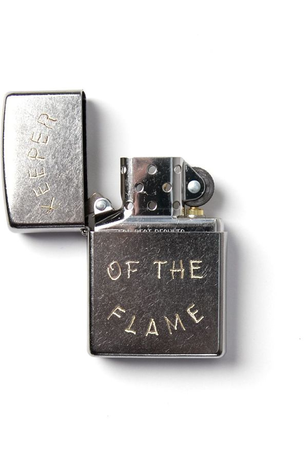 Bridge & Burn Keeper Of The Flame -  Zippo Silver