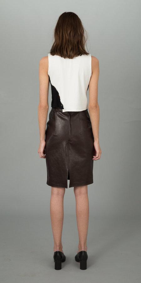 Urbanovitch Leather Skirt