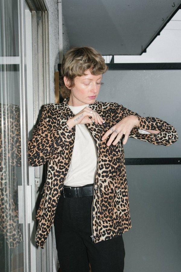 Ganni Camberwell Jacket - Leopard
