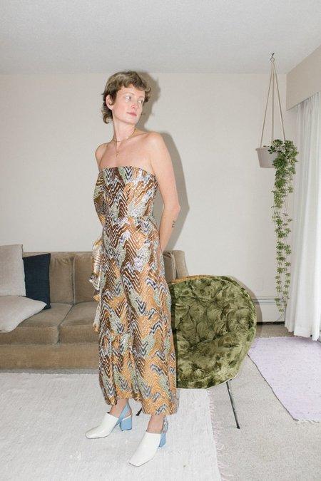 Rachel Comey Revel Jumpsuit - Gold