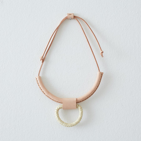 Crescioni union necklace - palm