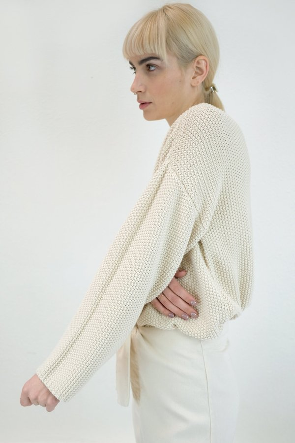 Micaela Greg Seed Sweater - Cream
