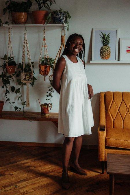 Valérie Dumaine Cass Dress - Ivory