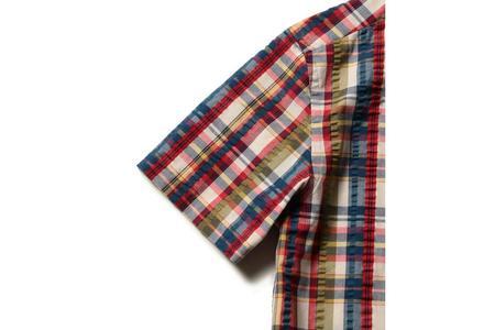 Beams + Coolmax Short Sleeve Shirt - Check