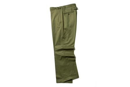 Beams + Twill Trousers - Olive