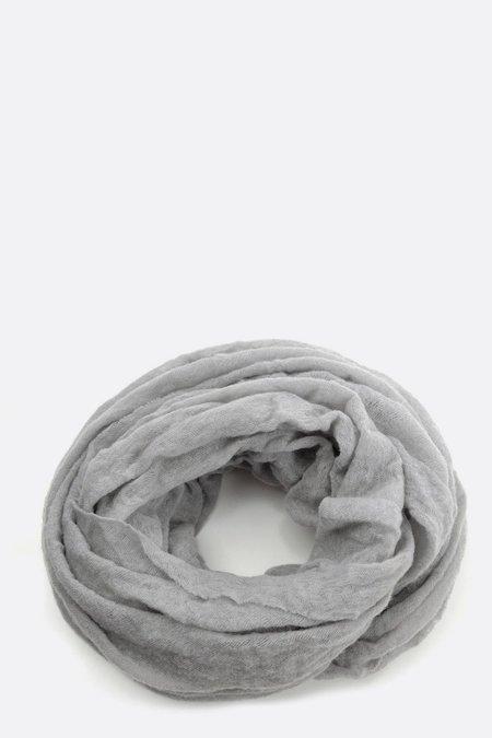 Botto Giuseppe Thick Cashmere Tube Scarf - Grey